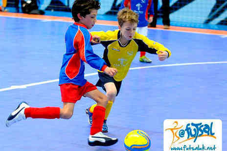 Futsal - Indoor Football Party for up to 13 Children with Party Food, Cake, and Party Bags - Save 52%