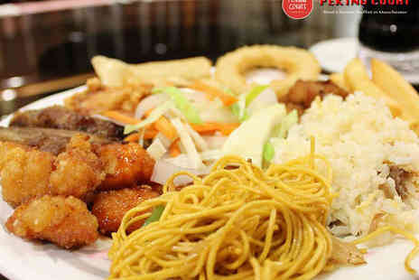 Peking Court - All You Can Eat Chinese Buffet for Two  - Save 0%