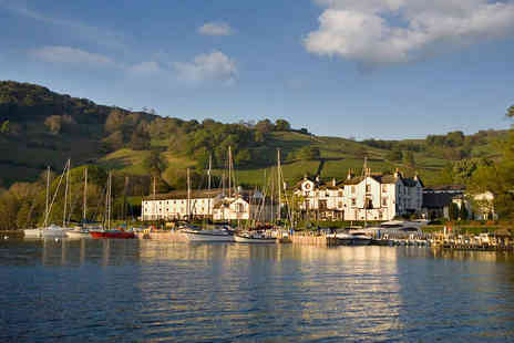 Low Wood Bay - One Night Stay for Two with Breakfast, Use of Leisure Facilities Including Outdoor Hot Tub, Early Check In and Late Checkout - Save 49%