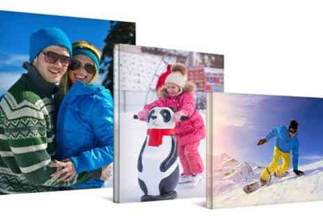 Prentu - Personalised Canvas Prints With Free Mounting Kit  - Save 67%