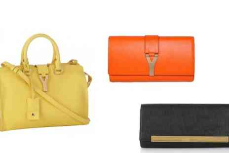 Groupon Goods Global GmbH - Yves Saint Laurent Y Clutch Bags With Free Delivery  - Save 0%