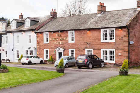 The Kings Arms Temple Hotel - One Night Stay for two in Cumbria - Save 38%