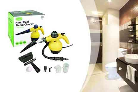 ToolCollection - Handheld Portable Steam Cleaner and Accessories - Save 48%