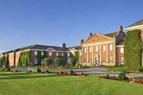De Vere Mottram Hall Spa - Perfect  Spa Day including Massage, Facial & Afternoon Tea - Save 47%