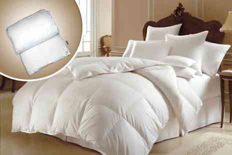 One Stop Shop Europe - Single 13.5 tog microfibre winter duvet - Save 75%