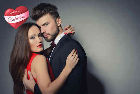 Studio 56 Photography - One hour couples Valentines photoshoot including 10 prints - Save 80%