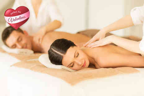 Versage Health and Beauty - Couples pamper package including a massage and facial each - Save 76%