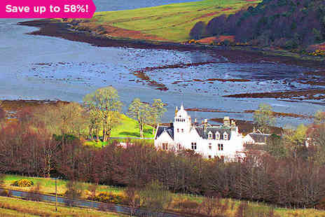 Skeabost Country House Hotel  - One night stay for two with breakfast - Save 58%