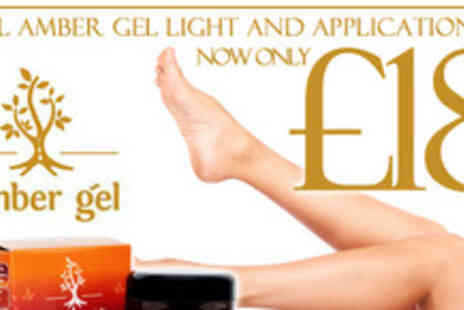 Amber Gel - Fuzz free for less, 100ml of Amber Gel Light hair removal treatment - Save 61%