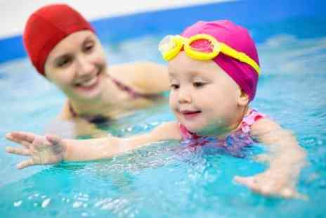 Aquakiddies - Five Weeks of Baby Swimming Lessons  - Save 61%