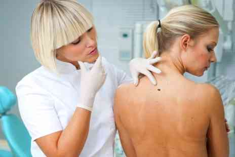 Harley Street Skin Clinic - One Session to Mole, Wart or Skin Tag Removal - Save 52%
