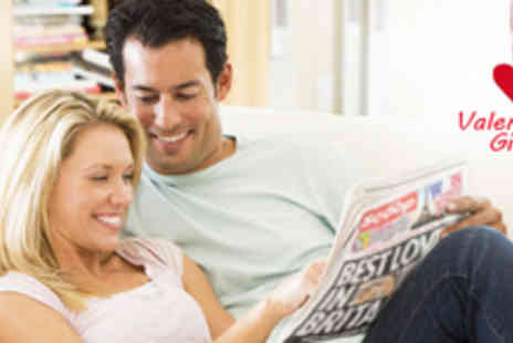 Scooped - Personalised and Branded Newspaper for Valentines Day - Save 53%