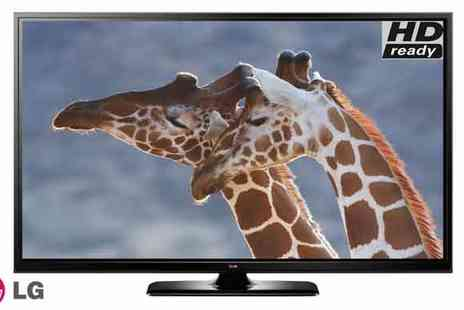 T L X Electrical  - LG 50 Inch HD Ready 720p Plasma TV - Save 39%