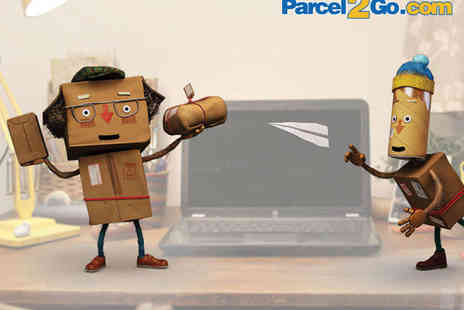 Parcel2Go -  £10 Toward Local or Worldwide Delivery - Save 80%