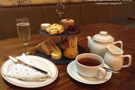 The Brickmakers Arms - Afternoon Tea for Two with a Glass of Prosecco Each - Save 50%