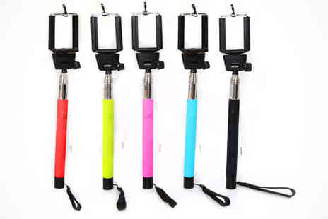 Selfie Stick - Plug n Play Selfie Stick, Delivery Included - Save 63%