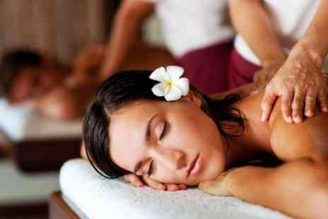 Saasha Hair and Beauty - Hot Oil Massage With Facial - Save 47%