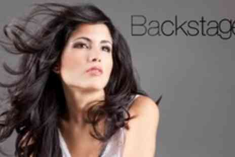 Backstage LA - Brazilian Blow Dry Keratin Treatment Plus Cut With Senior Stylist - Save 75%