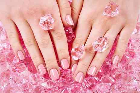House of Beauty - Shellac manicure to include a pedicure - Save 55%