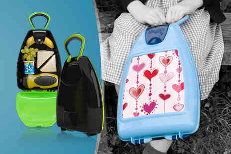 Kidzpod - Kids anti acterial travel case in a choice of 5 colours - Save 0%