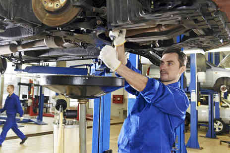 T & M Autocare - 54 Point Car Service with Oil and Filter Change - Save 62%