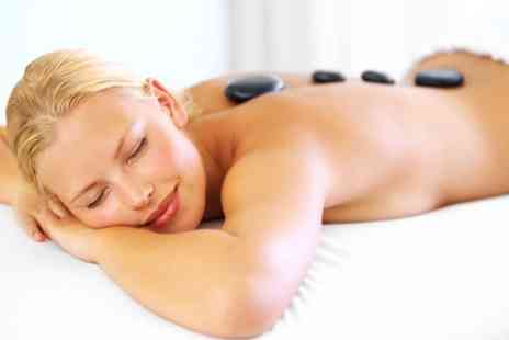 Lux Studio   - 60 Minute Hot Stone Massage  With Facial - Save 58%