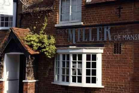 Miller Of Mansfield - One Night stay For Two With Breakfast - Save 43%