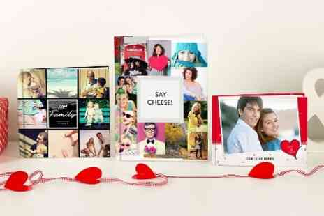 u.PhotoBooks - Personalised Imagewrap Hardcover - Save 70%