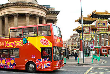 City Sightseeing - City Sightseeing Tour for 2  - Save 55%