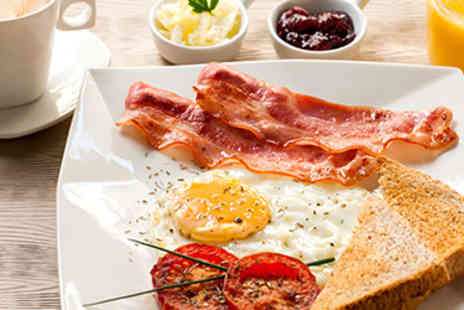 The Lavender Rooms - Full English Breakfast with OJ for 2 - Save 50%