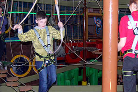 Mister Twisters - Soft Play and High Ropes for Four - Save 61%