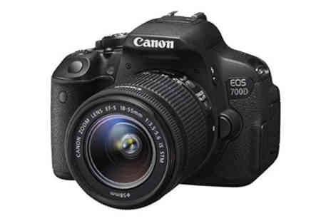 Spice Hot - Canon EOS 700D Digital Camera - Save 26%