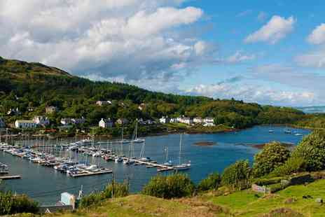 The Anchor Hotel - Stay Two nights in Tarbert with Scottish breakfast and bottle of wine included - Save 49%