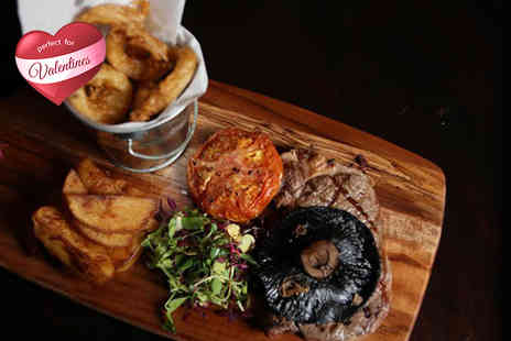 Sackville Lounge - Steak meal for Two including a Prosecco cocktail - Save 42%