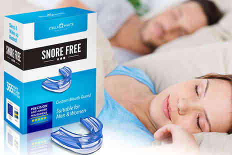 Stella White - Anti Snoring Mouthguard - Save 84%