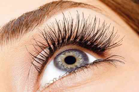 Alex Hair & Beauty - Full Set of Individual Eyelash Extensions  - Save 55%