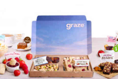 graze  - Four Delicious Graze Snack Boxes - Save 64%