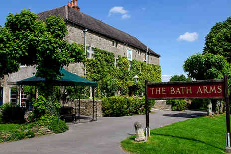 The Bath Arms - Boutique Country Getaway for Two in Picturesque Wiltshire - Save 43%