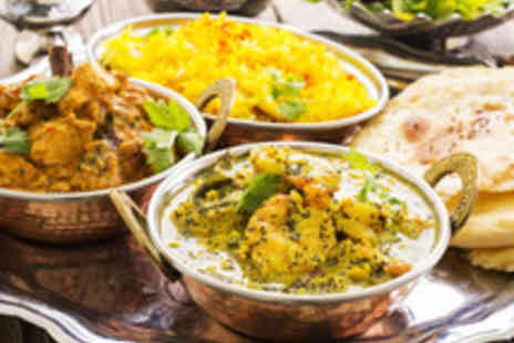 Mumbai Mansion - Traditional Thali Feast for Two  - Save 77%