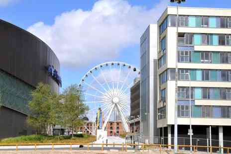 The Block Liverpool - One night apartment stay in Liverpool including late checkout - Save 47%