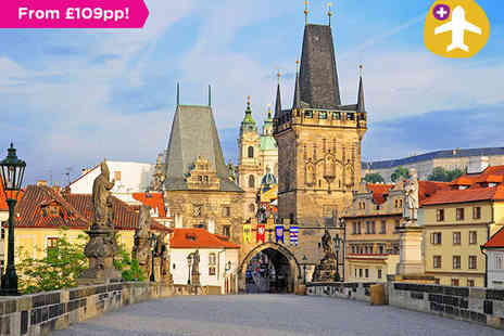 A1 Travel - Flight Inclusive Prague City Break - Save 0%