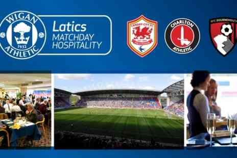 Wigan Athletic Football Club - Choice of Wigan Athletic FC Hospitality Package With Meal  - Save 0%