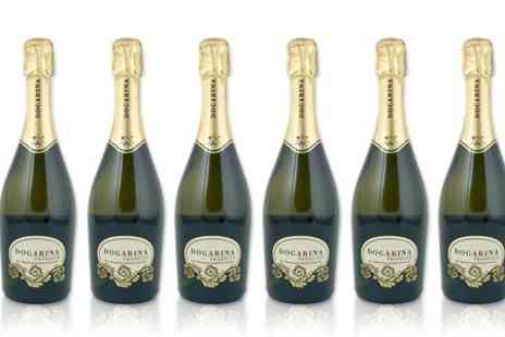 Wine Online - Six or Twelve Bottles of Dogarina Prosecco DOC With Free Delivery  - Save 47%