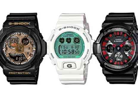 Photo Direct - Casio Mens G Shock Watches in Choice of Style With Free Delivery  - Save 58%