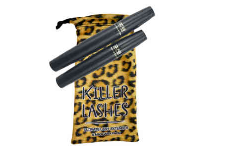 MRG Trading - Killer Lashes Lash Extender & Mascara Duo Pack - Save 73%