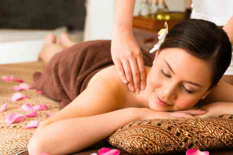 Natural Spa - One hour hot stone or Swedish massage - Save 84%