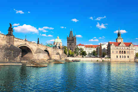 Major Travel - Two night Prague break including flights, breakfast and river cruise with lunch - Save 38%