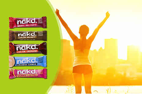 Natural Balance Foods - Case of 18 Nakd bars  - Save 18%