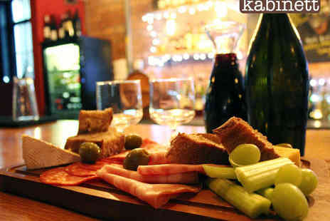 Kabinett Bar - Sharing Platter for Two with Carafe of Wine with a Bottle of Wine - Save 46%