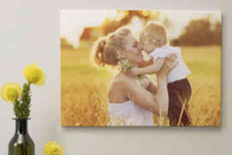 Albelli - A Choice of Personalised Photo Canvases Including Delivery - Save 59%